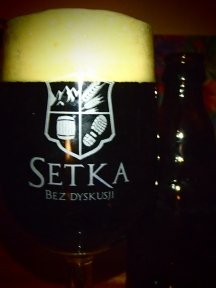 Butelkowy Hades (nie) w całości w pamiątkowym szkle z Poznania ;)